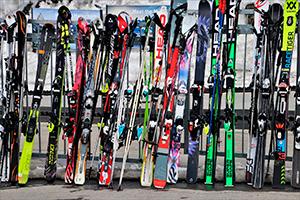 Cómo guardar los esquís durante el verano